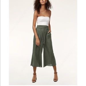 NWT Wilfred Nanterre Wide Leg Pants La Boheme New